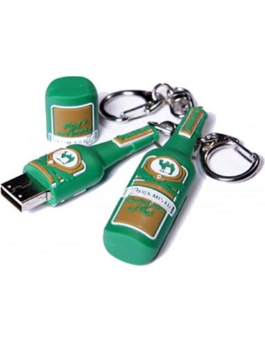 4 GB Flash usb disk - pivní lahev Purkmistr