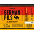 ETIKETA PURKMISTR GERMAN PILS 13% 0,75 L