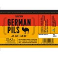 ETIKETA PURKMISTR GERMAN PILS 13% 0,33 L