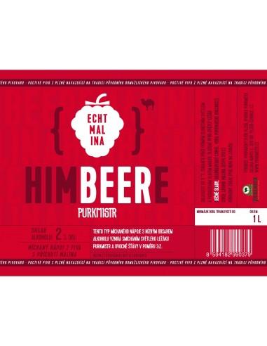 Etiketa Purkmistr HIMBEERE 1 L