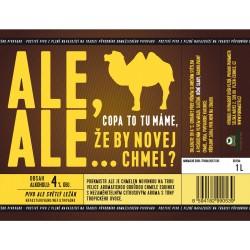 Etiketa Purkmistr Ale Ale 1 L