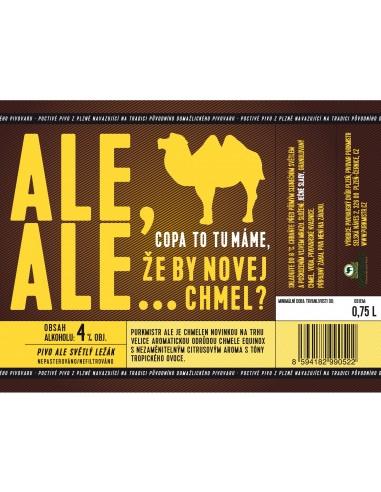Etiketa Purkmistr Ale Ale 0,75 L