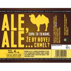 Etiketa Purkmistr Ale Ale 0,5 L
