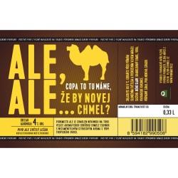 Etiketa Purkmistr Ale Ale 0,33 L