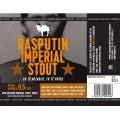Etiketa Purkmistr Rasputin Imperial Stout 0,5 L
