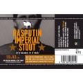 Etiketa Purkmistr Rasputin Imperial Stout 0,33 L