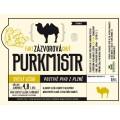 Etiketa Purkmistr Fakt zázvorová chuť 0,5 L