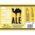 Etiketa Purkmistr Belgian Blonde 0,5 L