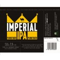 Etiketa Purkmistr Imperial Ipa 1 L