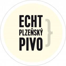 Pivní tácek PURKMISTR ECHT PLZEŇSKÝ PIVO