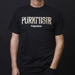 Triko Camo Purkmistr black