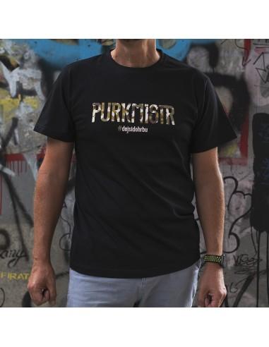 Triko camo Purkmistr 2.0 černé