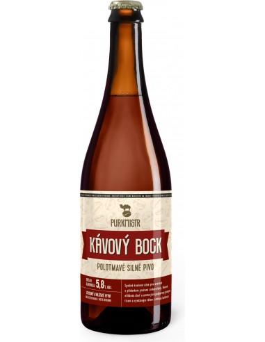 Purkmistr - Kávový Bock 15% - 750 ml