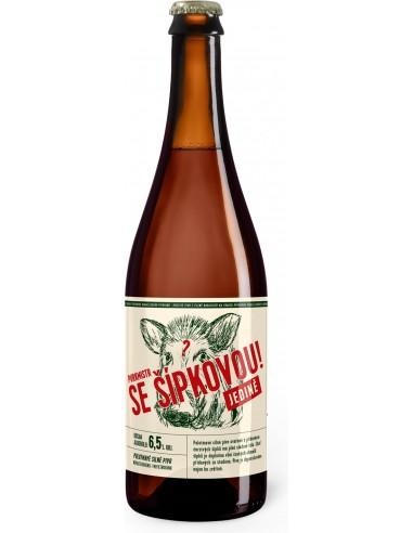Purkmistr - Šípkové pivo 15% - 750 ml