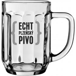 SKLENICE PURKMISTR ECHT PLZEŇSKÝ PIVO 0,3 L